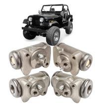 Kit 4 Cilindro Roda Burrinho Freio Ford Jeep Willys 60 à 83 - GIRAPARTS