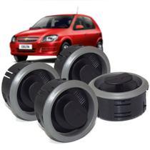 Kit 4 Difusor De Com Suporte Auto Quality Prisma celta Kit1029 -