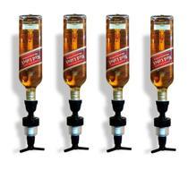 Kit 4 Dispenser Dosador Suporte Garrafas Bebidas de Parede - Redskull