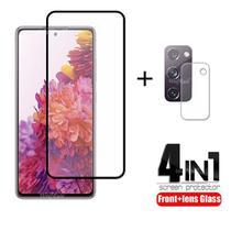 Kit 4 em 1 Película de Vidro Samsung Galaxy S20 FE - Oem
