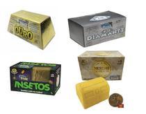 Kit 4 Escava Premio - Ouro + Diamante + Inseto + Moeda - Dtc