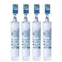 Kit 4 Filtro Refil Para Purificador De Água Consul Compatível Bem Estar E Facilite - Wfs