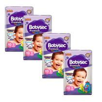 Kit 4 Fralda BabySec GALINHA PINTADINHA Premium - XG - 48 unids - Experimente e se Surpreenda - Softys