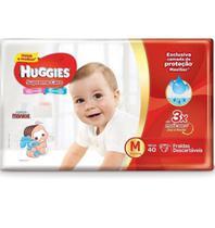 Kit 4 Fralda Descartável Infantil Mônica Supreme Care M 40 unidades - Huggies