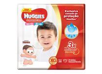 Kit 4 Fralda Descartável Infantil Mônica Supreme Care XG 26 unidades - Huggies