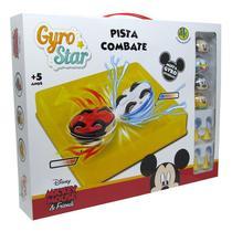 Kit 4 Gyro Star Pista de Combate Arena Disney Mickey e Amigos Dtc -