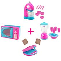 Kit 4 Itens Cozinha Infantil Le Chef - Usual Brinquedos -