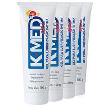 Kit 4 K-med Gel Lubrificante Íntimo 100g - CIMED