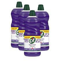 Kit 4 Limpadores Uso Geral Cif Relaxante Perfumes 1,75l -