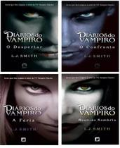 Kit 4  Livros - Coleção Diários Do Vampiro, - Galera