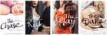 Kit 4 livros elle kennedy the chase + the risk + the play + the dare - Paralela