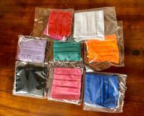 Kit 4 máscaras de proteção infantil reutilizável coloridas - Dom