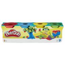 Kit 4 Mini Potes De Massinha Play Doh Hasbro -