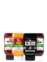 Kit 4 Molhos Zero Cal, Zero açúcar, Mrs. Taste Os Melhores!! - Mrs Taste