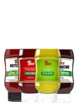 Kit 4 Molhos/ Zero Sódio/ Zero Açúcar/ Zero Cal - Mrs Taste -