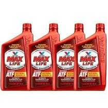 Kit 4 oleo cambio transmissao automatica maxlife atf sintetico valvoline mercon dexron 946 ml cada - kit00303 -