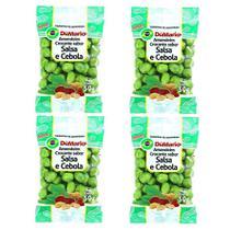 Kit 4 Pacotes Amendoim Crocante Sabor Cebola Salsa 50 gramas - Amendoim dumario