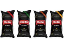 Kit 4 Pacotes Salgadinho Resenha Brahma 50g cada - Frango Pimenta Queijo Suíço e Churrasco