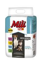 Kit 4 Pacotes Tapete Higiênico Cães Mili Dog 60cm 30un Cada -
