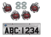 Kit 4 Parafusos De Placa Emblema Fiat Mobi - Elitte