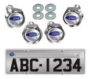 Kit 4 Parafusos De Placa Emblema Ford Focus - Elitte