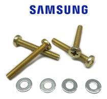 Kit 4 parafusos p/ suporte tv samsung m4 x 30 * un32j4290ag - Belenus