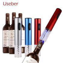 KIT 4 PÇ Abridor De Vinho Elegante Eletrico com LED - Durawell -