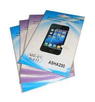 Kit 4 Películas Plástico Nokia Asha200 - H' maston