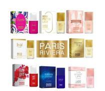 Kit 4 perfumes feminino paris riviera 30ml importado -