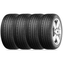 Kit 4 Pneu Continental Barum Aro 16 205/55r16 91v Bravuris 3 HM -