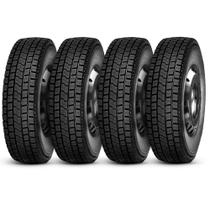 Kit 4 Pneu Durable Aro 22.5 275/80R22.5 149/146M Dr623 Borrachudo -