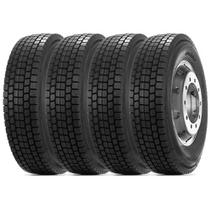 Kit 4 Pneu Durable Aro 22.5 295/80r22.5 18PR 152/148M DR755 Borrachudo -
