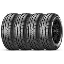 Kit 4 Pneu Pirelli Aro 15 195/55r15 85v Cinturato P1 Plus -