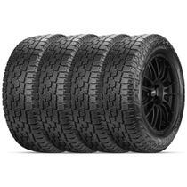Kit 4 Pneu Pirelli Aro 18 265/65r18 114t At Plus Scorpion -