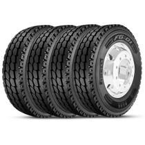 Kit 4 Pneu Pirelli Aro 22.5 275/80r22.5 149/146L M+S Plus FG01 -