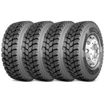 Kit 4 Pneu Pirelli Aro 22.5 275/80r22.5 149/146L M+S Tg01 -