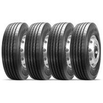 Kit 4 Pneu Pirelli Aro 22.5 275/80r22.5 149/146m Fr01 -
