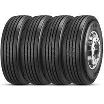 Kit 4 Pneu Pirelli Aro 22.5 275/80r22.5 149/146M FR88 Liso -