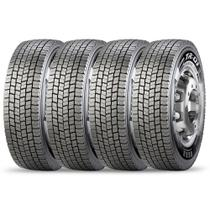 Kit 4 Pneu Pirelli Aro 22.5 275/80r22.5 149/146m TL M+S Tr01 -