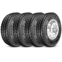 Kit 4 Pneu Pirelli Aro 22.5 295/80r22.5 152/148L M+S Plus Fg01 -