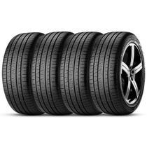 Kit 4 Pneu Pirelli Aro 255/60r18 112h Xl Scorpion Verde All Season -