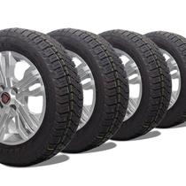 kit 4 pneu remoldado aro 15 205/60r15 atr strong