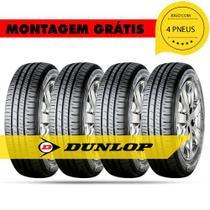 Kit 4 Pneus 185 65 R14 86t Dunlop 414042 Monza santana versailles gol palio parati -