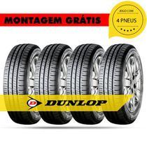 Kit 4 Pneus 185 70 R14 88t R1l 414043 Dunlop Corolla vectra accord cordoba prisma impreza -