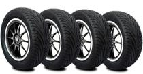 Kit 4 Pneus  195/50R15  Remoldado Am Plus