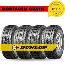 Kit 4 Pneus 265 65 R17 112s Grandtrek At3 Dunlop Hilux pajero ranger sw4 Dakar landcruiser - Gnr