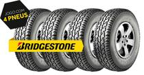 Kit 4 pneus lt255/75r15 dayton timb. a/t 105/109s bridgestone -