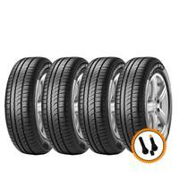 Kit 4 Pneus Pirelli Aro 15 185/65R15 Cinturato P1 88H + Válvulas -