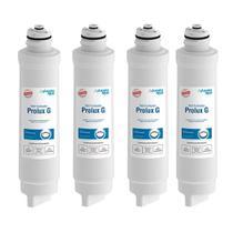 Kit 4 Refil Filtro Prolux G Para Purificador Electrolux Acqua Clean Paufcb30 Pappca40 Pa21g Pa26g Pe11x Pe11b Pa31g Pc41 - Planeta Água