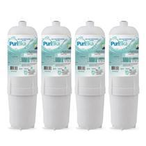 Kit 4 Refil Filtro Purificador Água Soft Everest Slim Fit Baby Star Flat Plus - Policarbon